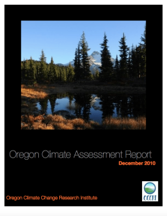 Oregon Climate Assessment Report 2010 pic